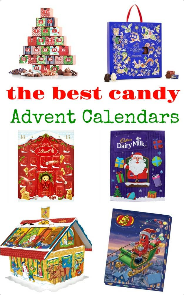 Candy Advent Calendars Mess For Less
