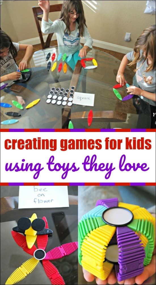 Creating games for kids using toys they love. Find out how easy it is to make fun games to challenge your kids! #AD #MAGNAFLEX #WOWWEE @WOWWEE