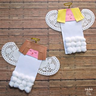Paper Bag Angel Craft