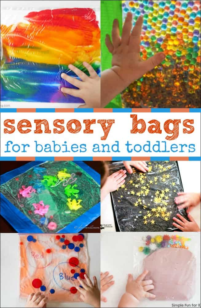 Sensory Bags For Babies And Toddlers Are A Wonderful Mess Free