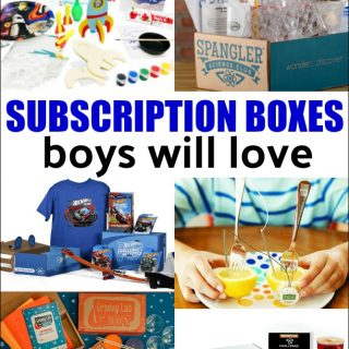 Best Subscription Boxes for Boys
