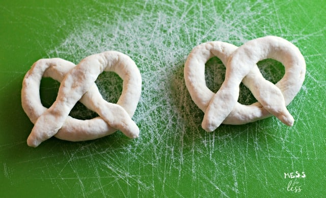 2 Ingredient Dough Pretzels - Weight Watchers