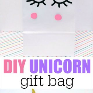 How to Make a Unicorn Gift Bag