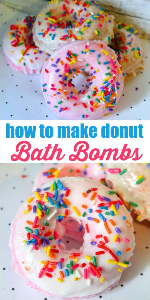 You don't need to spend a lot of money for fancy bath bombs. You can just make them at home for a fraction of the cost. Learn how to make donut bath bombs that look just like the real thing!