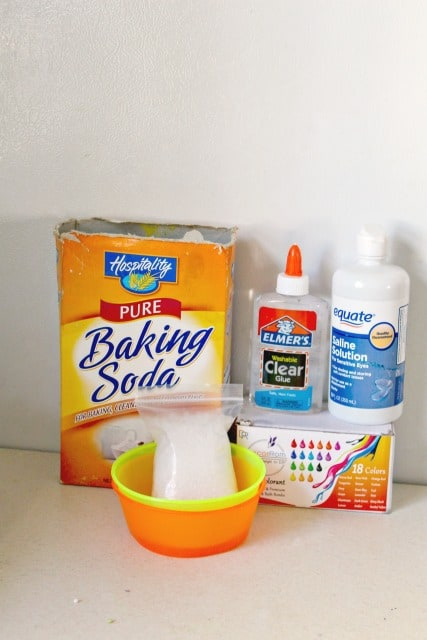 ingredients to make slime