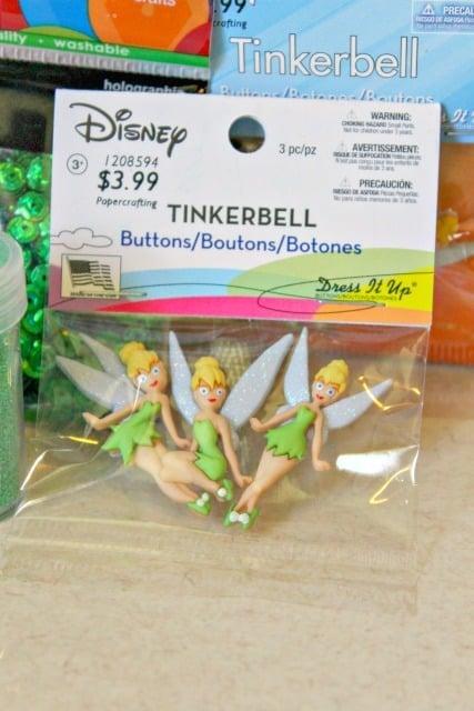 Tinkerbell embellishments