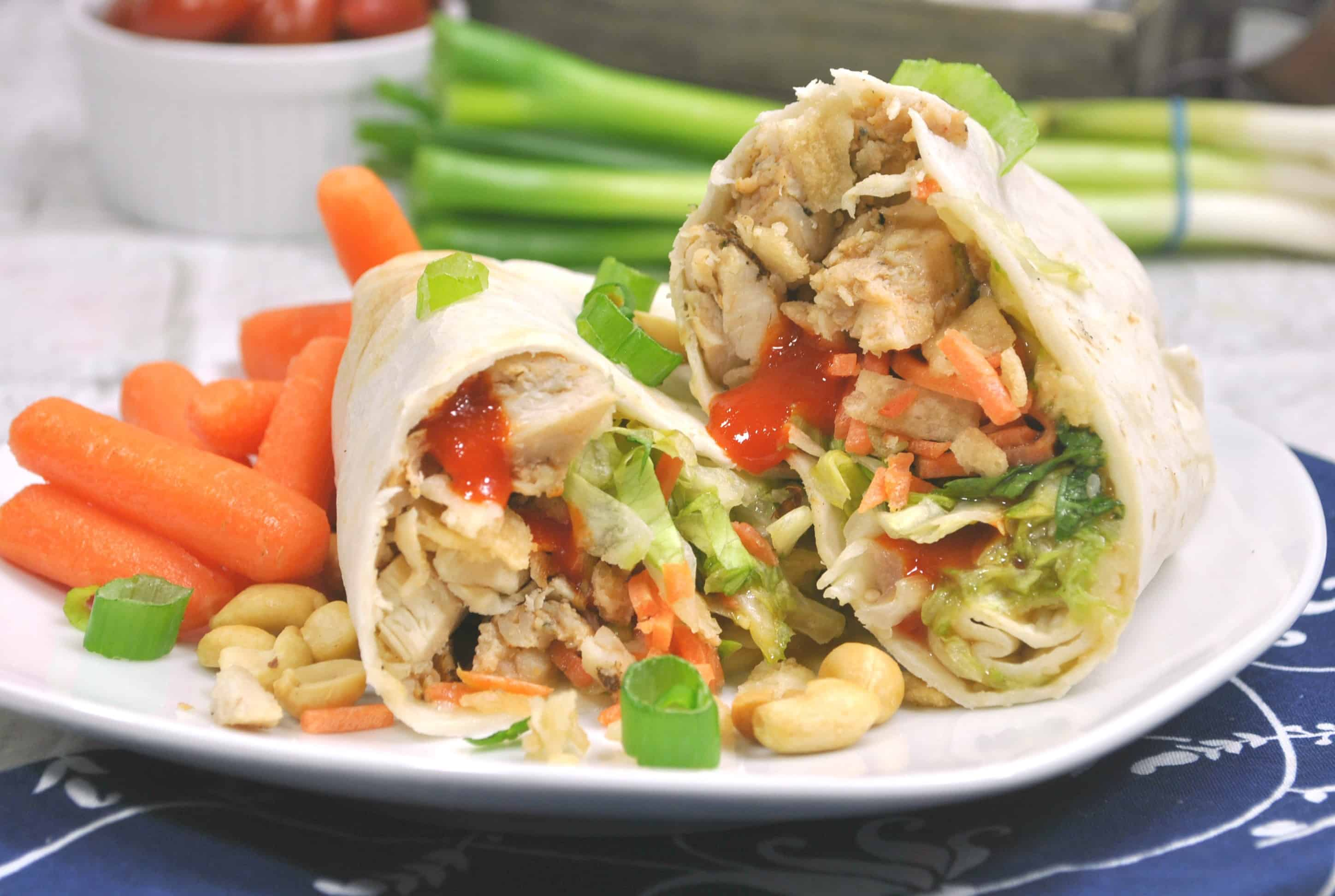 Weight Watchers Thai Chicken Wraps
