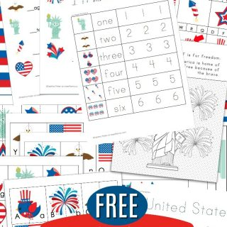 Free 4th of July Worksheets for Kindergarten