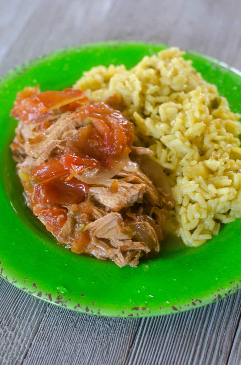 Caribbean Chicken made in the Instant Pot
