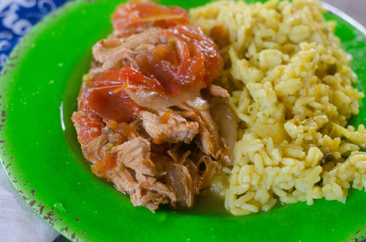 Caribbean Chicken in the Instant Pot