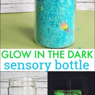 Glow in the Dark Sensory Bottle