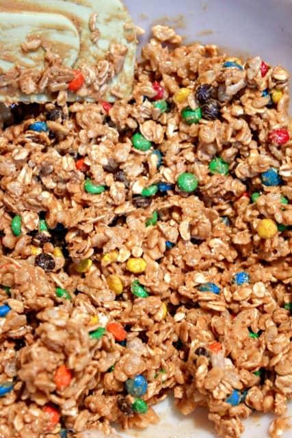 making no bake granola bars