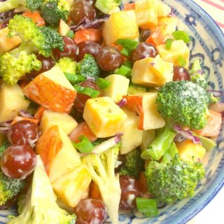 Weight Watchers Friendly Broccoli Salad