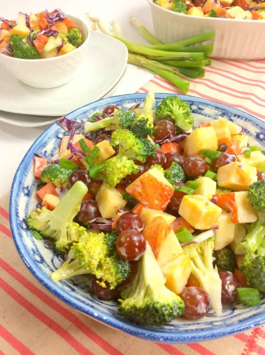 Weight Watchers Friendly Broccoli Salad