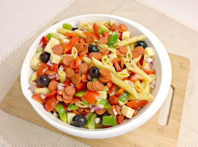 weight watchers italian pasta salad