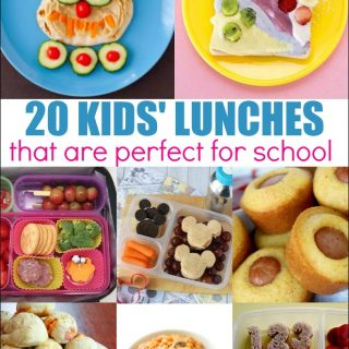 20 Ideas for Kids' Lunches