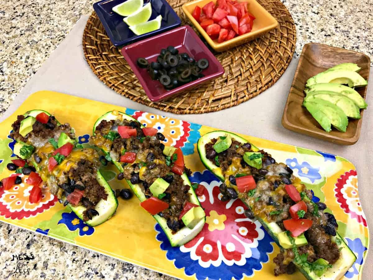 zucchini taco boats