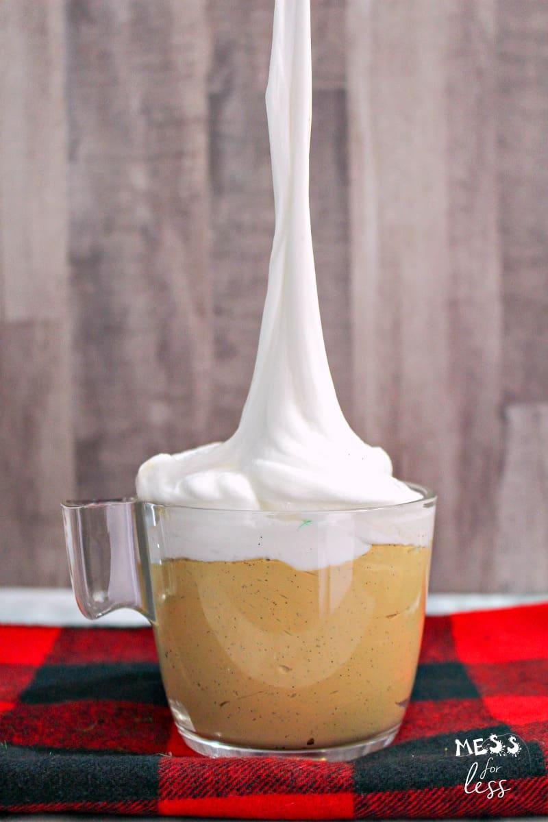 Pumpkin Spice Latte Slime