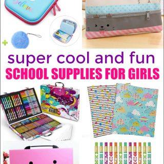 School Supplies for Girls