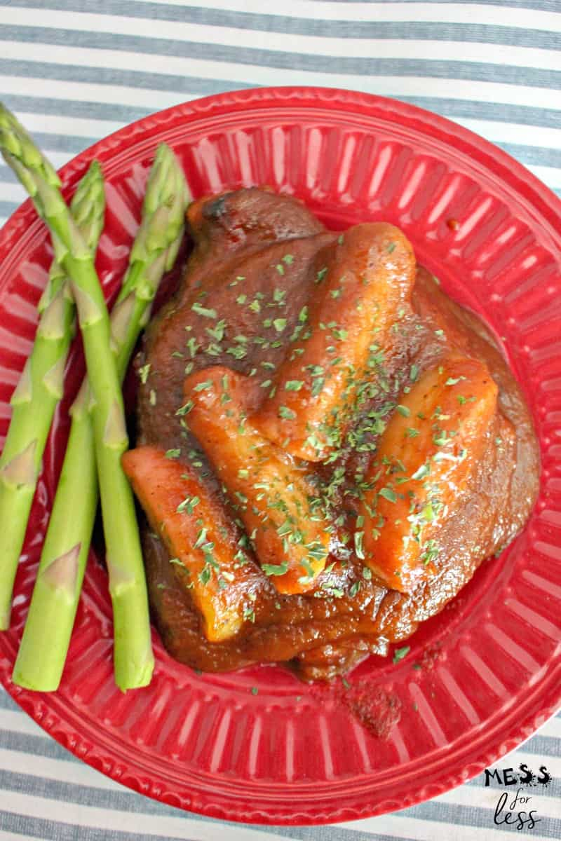 apple butter pork chop recipe