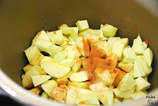 apples in an instant pot