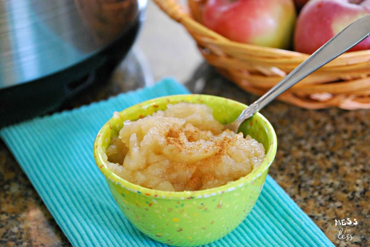 instant pot applesauce