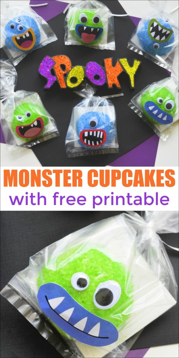 You are going to love these Snoball Monster Cupcakes I am sharing with you today! They are fun and adorable and super easy to make. Perfect for a classroom party!
