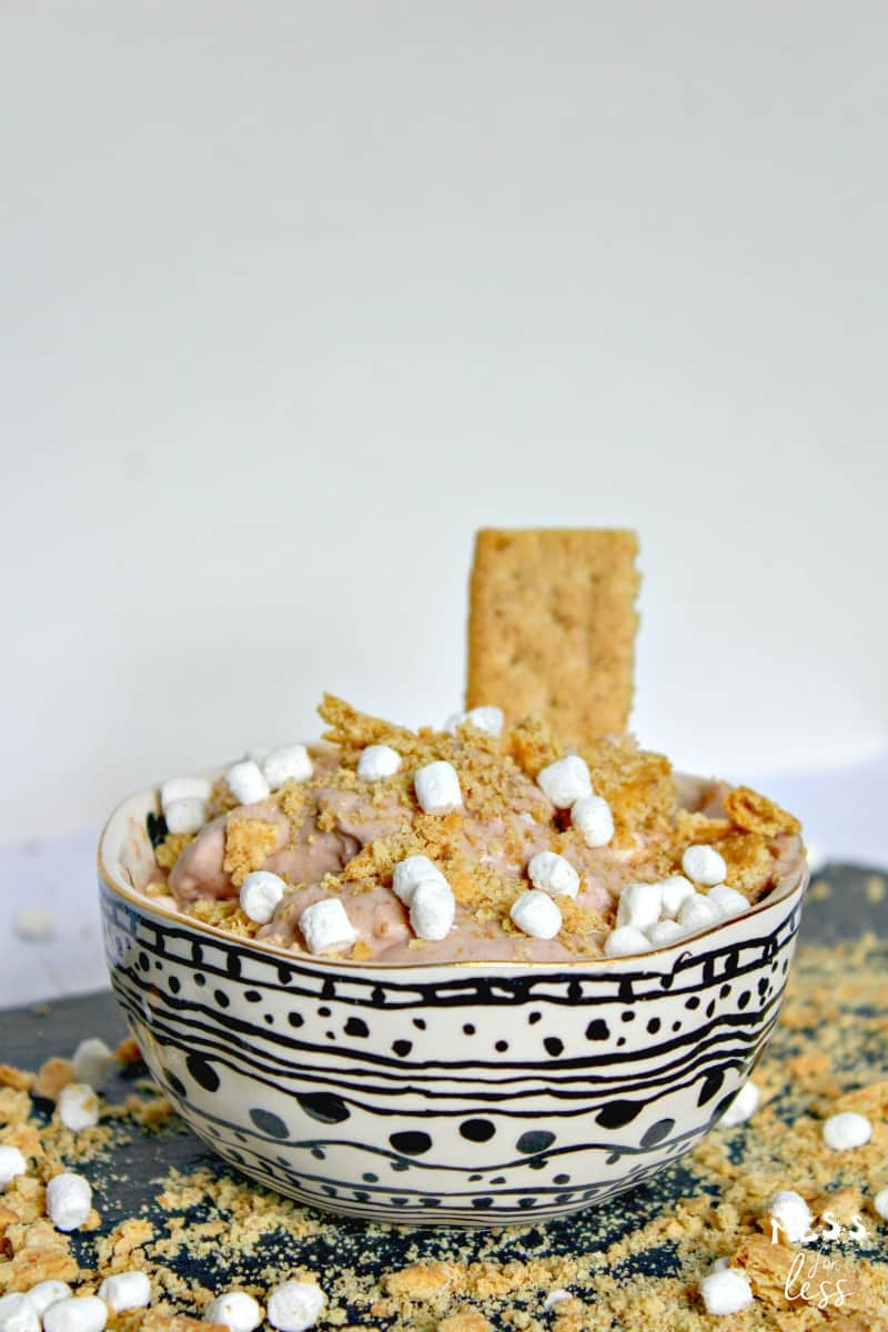 S'Mores No Churn Ice Cream Recipe