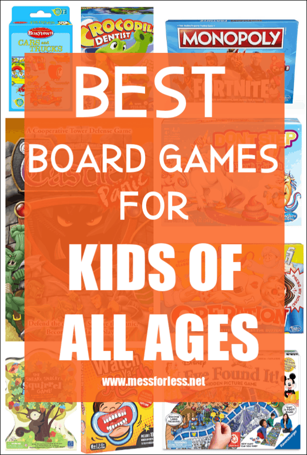 To make shopping for kids easier, I have assembled a list of the Best Board Games for Kids that I have found. The are organized by age, so you can find something for every kid on your list. Click to find out if your favorite made the list.