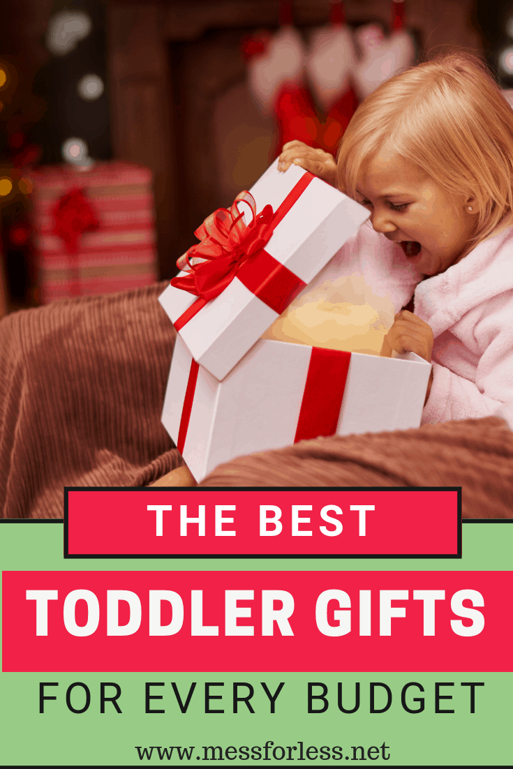 I'm sharing over 30 of the best toddler gifts for every budget so whether you want to spend $5 ,$10 or more, you'll find something sure to please the special toddler in your life. #Christmasgifts #birthdaygifts #toddlergifts #toddlers