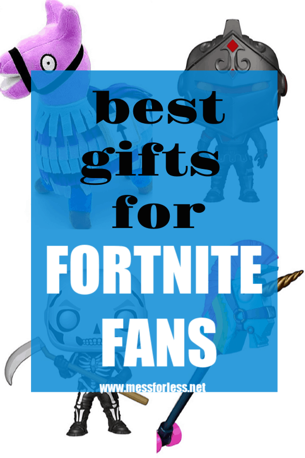 Know a kid or tween who loves Fortnite? Kids of a certain age can be hard to shop for, but if they are gamers, then odds are these Gifts for Fortnite Fans will be a hit. #fortnite #giftsforboys #gifts #birthdaygifts