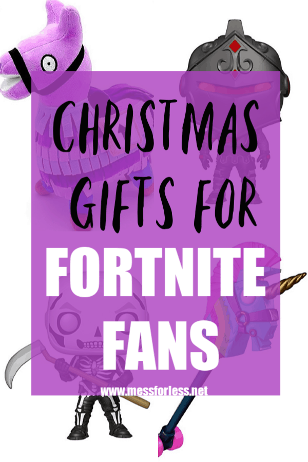 Know a kid or tween who loves Fortnite? Kids of a certain age can be hard to shop for, but if they are gamers, then odds are these Gifts for Fortnite Fans will be a hit. #fortnite #christmasgifts #giftsforboys #gifts #birthdaygifts