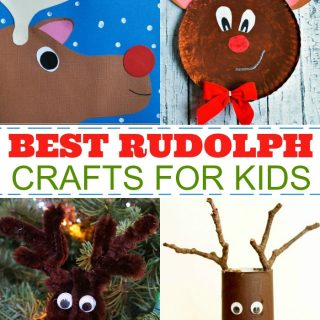 Best Rudolph Crafts for Kids