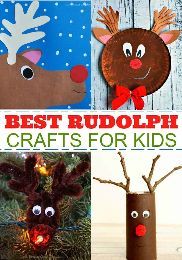 Best Rudolph Crafts For Kids Mess For Less