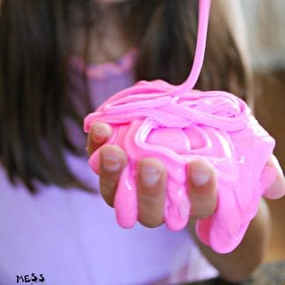 Fluffy Slime Recipe without Borax