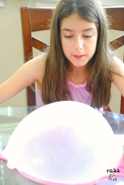 slime bubbles