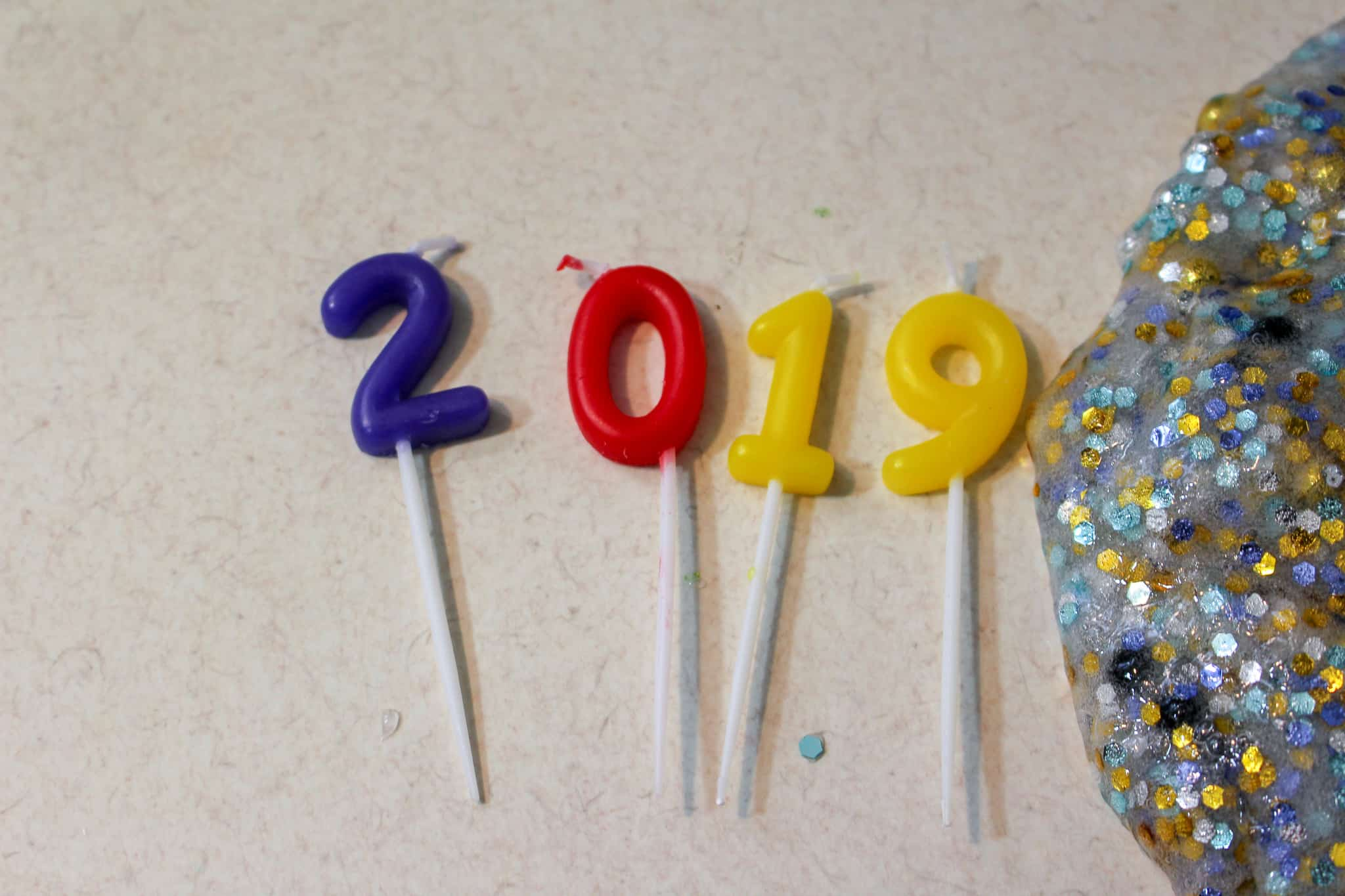 2019 candles