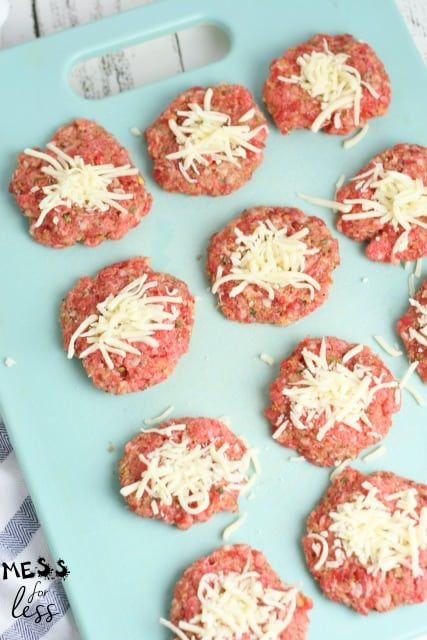 recipes for mozzarella stuffed meatballs