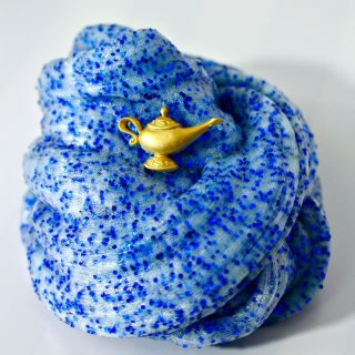 How to Make Genie Slime -Aladdin Inspired