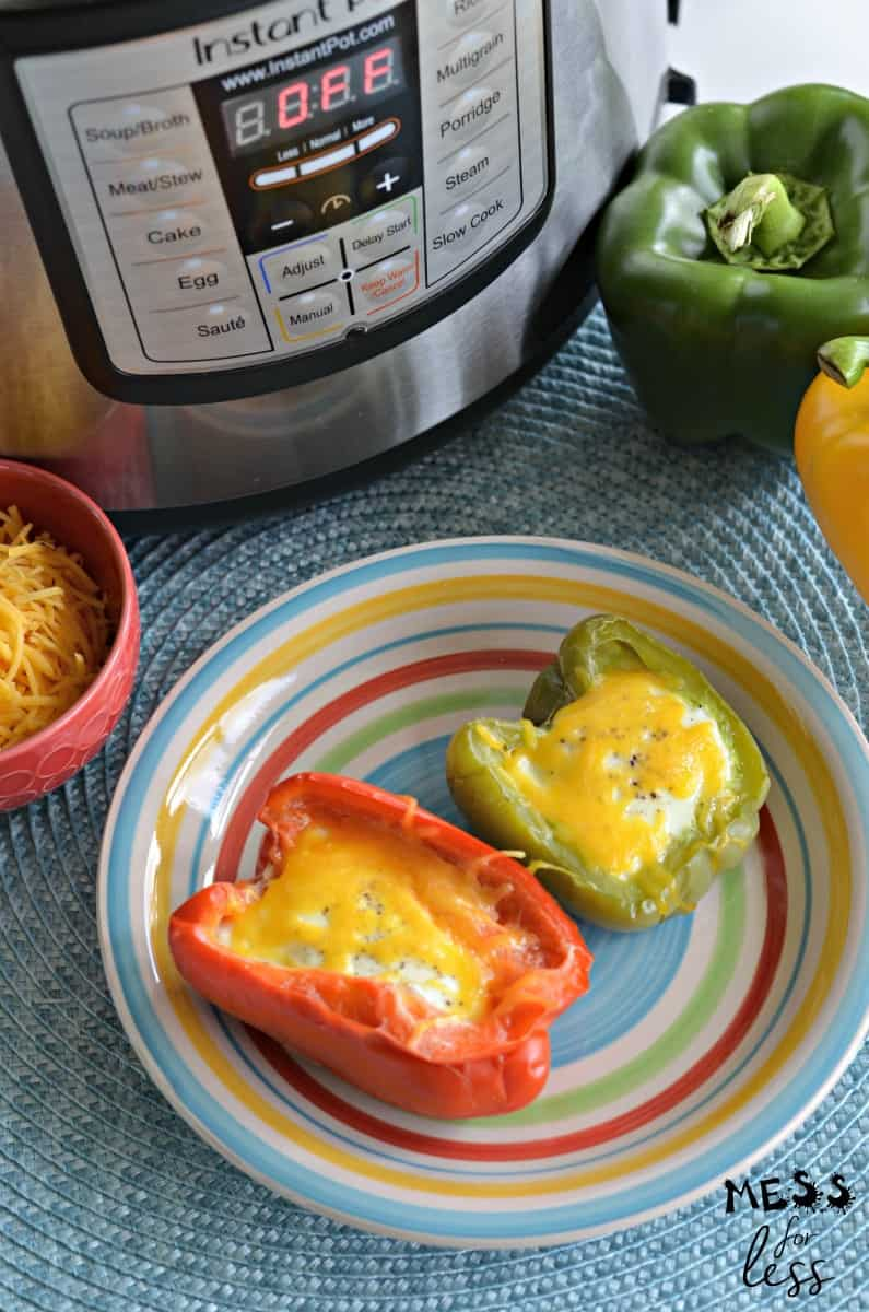 I love this recipe forKeto Instant Pot Egg Stuffed Peppersbecause it breathes new life into traditional eggs. Plus, these eggs are made in the Instant Pot which makes them super easy to prepare. #keto #lowcarb #ketorecipes #lowcarbrecipes