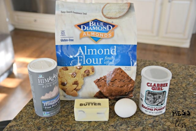 ingredients to make keto mug bread