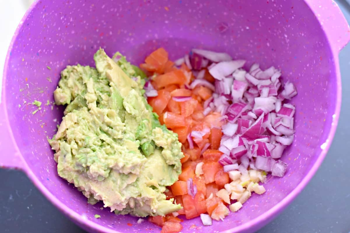 #ad making guacamole