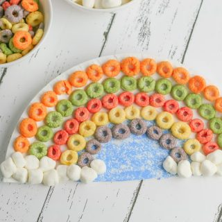 How to Make a Cereal Rainbow Craft