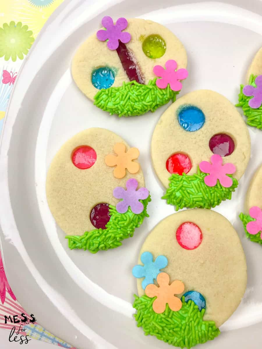 Stained Glass Easter Cookie Recipe