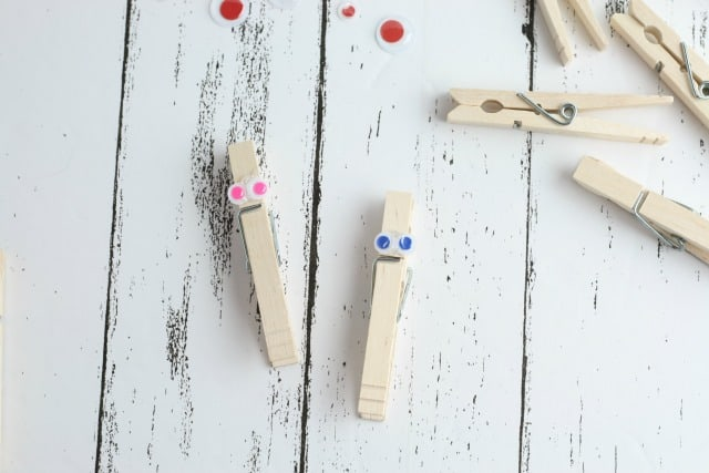 making clothespin butterflies