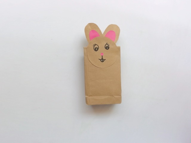 how to make an easter bunny craft