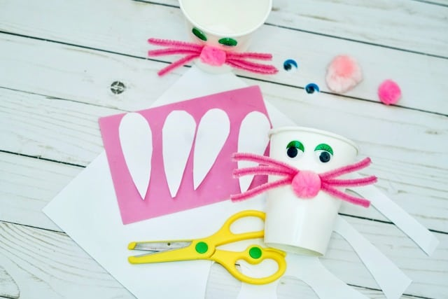 how to make a bunny craft