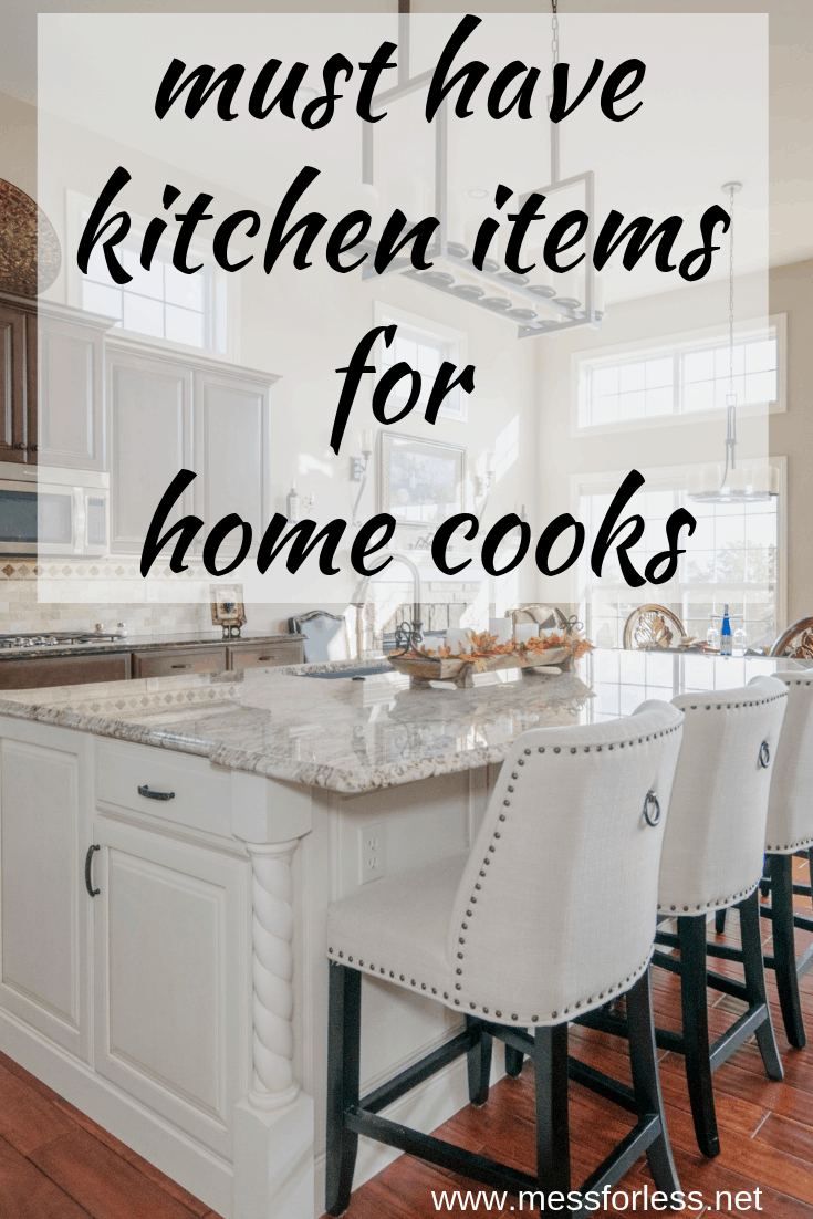 #ad #HomeDepotPartner It took me many years of trial and error to come up with items that I would consider to be essential when setting up a kitchen. These Must Have Kitchen Items for Home Cooks will simplify your time in the kitchen and give you the best results. @homedepot