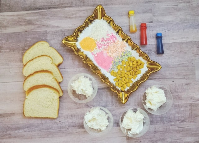 ingredients needed for princess toast