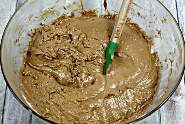 chocolate bundt cake batter